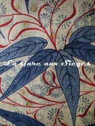 Tissu William Morris - Bamboo - réf: 522528 Indigo/Woad ( détail ) - Voir en grand
