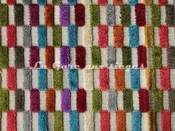 Tissu Deschemaker - Velours Cancun - réf: 103938 - Coloris: Multicolore - Voir en grand