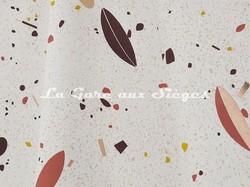 Tissu Lelièvre - Oléa - réf: 572.02 Cuivre - Voir en grand