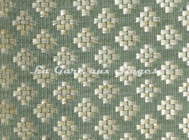 Tissu Le Crin - Nircel 229 - réf: C0229 - Coloris: 49 Vert Crème - Voir en grand