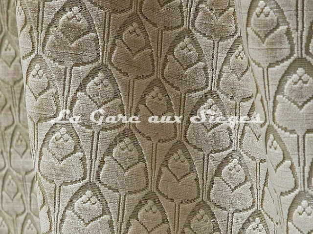 Tissu Tassinari & Châtel - Tulipe - réf: 1695.03 Cristal - Voir en grand