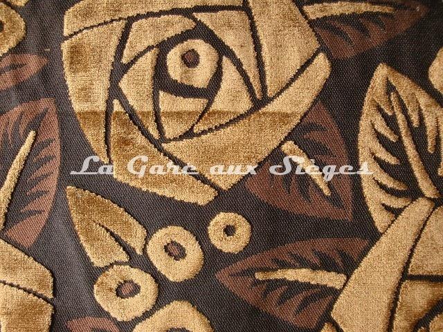 Tissu Casal - Tamara - réf: 12643.50 Marron - Voir en grand