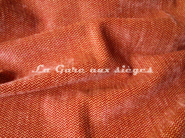 Tissu Bélinac - Bastide - réf: 1290 - Coloris: 12 Rouge beige - Voir en grand
