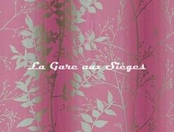 Tissu Harlequin - Persephone - réf: 130255 Magenta/Peat ( détail ) - Voir en grand