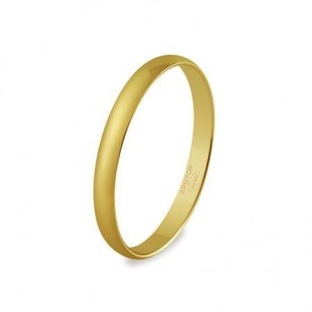 ce53ced791e Alliance mariage or jaune simple billante . - Bijouterie Horlogerie Lechine