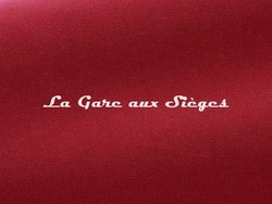 Tissu Pierre Frey - Gaspard - réf: F3070.026 Griotte - Voir en grand