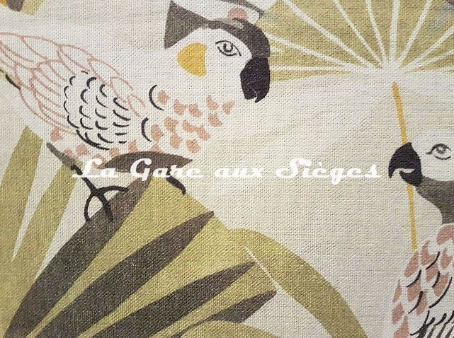 Tissu Camengo - Quetzal - réf: 4206.0218 ( détail ) - Voir en grand
