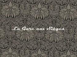 Tissu William Morris - Crown Imperial - réf: 230292 Black/Linen - Voir en grand