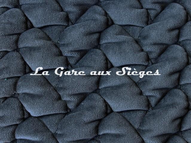 Tissu Dominique Kieffer - Velours Tresse - réf: 17229.01 Smoke - Voir en grand