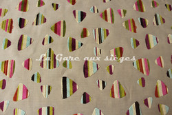 Tissu Deschemaker - Rio - réf: 103647 Multicolore