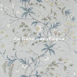 Papier peint Zoffany - Chambalon Trail - réf: 312851 Mercury/Platinium Grey - Voir en grand