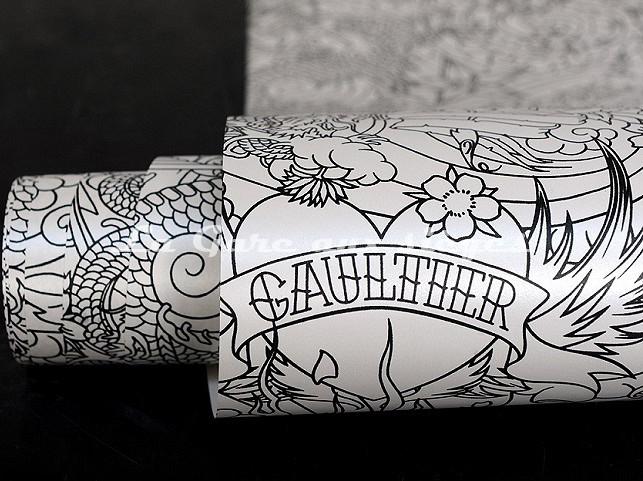 Papier peint Jean Paul Gaultier - Horimono - Voir en grand