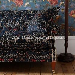 Tissu House of Hackney - Blacktorn velvet - Voir en grand