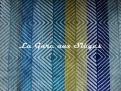 Tissu Harlequin - Erza - réf: 130625 Hyacinth/Lime/Turquoise/Marine - Voir en grand