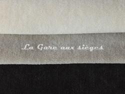 Tissu Chanée Ducrocq - Alpaga - Coloris: 2803 Ecume - 2804 Grès - 2800 Ardoise
