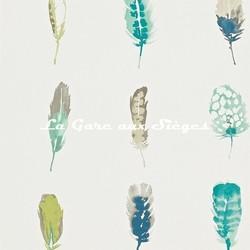 Papier peint Harlequin - Limosa - réf: 111074 Lagoon/Zest/Gooseberry - Voir en grand