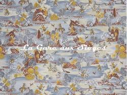 Tissu Jim Thompson - Chevalier - réf: J3673/002 Winter Bloom - Voir en grand