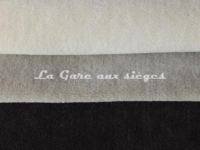 Tissu Chanée Ducrocq - Alpaga - Coloris: 2803 Ecume - 2804 Grès - 2800 Ardoise - Voir en grand