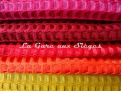 Tissu Lelièvre - Velours Bric - réf: 506 - Coloris: 16-17-18-19-20 - Voir en grand