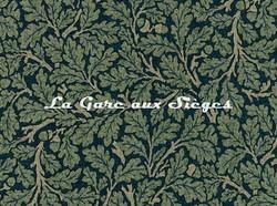 Tissu William Morris - Oak - réf: 226614 Teal/Slate ( détail ) - Voir en grand