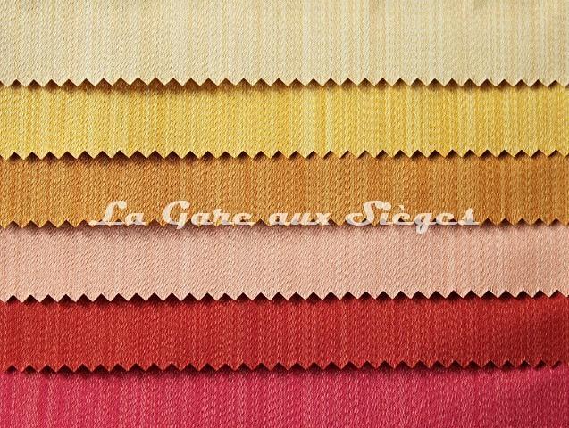 Tissu Tassinari & Châtel - Vertige - réf: 1682 - Coloris: 12 - 11 - 10 - 09 - 08 - 07 - Voir en grand