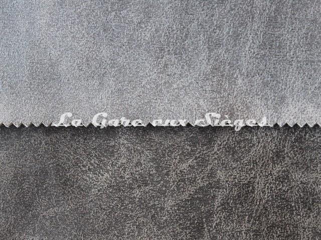 Tissu Casal - Saloon - réf: 5219 - Coloris: 630 Acier & 0 Ebène - Voir en grand