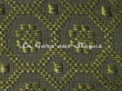Tissu Le Crin - Christiane 230 - réf: C0230 - Coloris: 097 Vert olive - Voir en grand