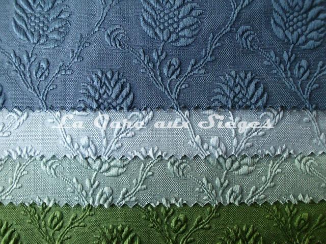 Tissu Tassinari & Châtel - Damas Pommes de pin - Coloris : 28 / 25 / 26 / 27 - Voir en grand