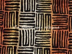 Tissu Deschemaker - Zanzibar - réf: 103939 - Cuivre - Voir en grand
