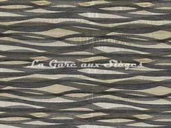 Tissu Casamance - Frénésie - réf: 3792.0286 Gris perle - Voir en grand