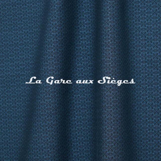 Tissu Jean Paul Gaultier - Optic - réf: 3494.04 Turquoise - Voir en grand