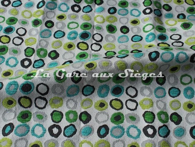 Tissu Casal - Oméga - réf: 16181 - Coloris: 3012 Pomme Turquoise - Voir en grand
