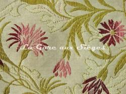 Tissu Chanée Ducrocq - Brissac - réf: 6072 Rouge ( détail ) - Voir en grand