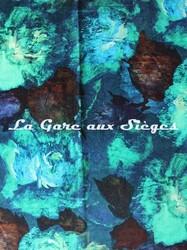 Tissu Rubelli - Mirafiore - réf: 30123.002 Smeraldo - Voir en grand