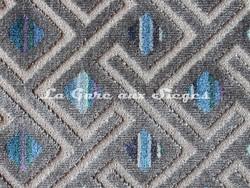 Tissu Deschemaker - Medellin - réf: 103969 Océan - Voir en grand