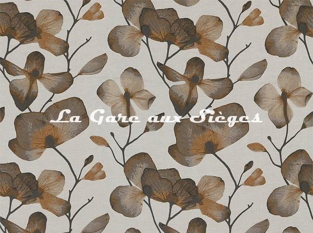 Tissu Harlequin - Kienze - réf: 132760 Bronze/Graphite - Voir en grand