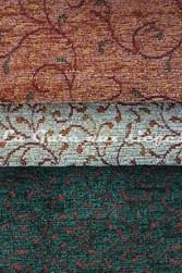 Tissu Amélie prévot - Torcy - réf: 16103 - Coloris: 21 Cuivre - 30 Amande - 33 Vert - Voir en grand