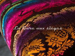 Tissu Luciano Marcato - Caserta - réf: LM19520-100 Multicolore - Voir en grand