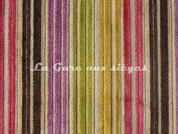 Tissu Deschemaker - Velours Recife - réf: 103687 - Multicolore