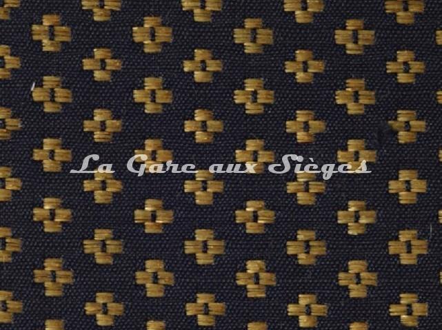 Tissu Le Crin - Nircel 201 - réf: C0201 - Coloris: 047 Noir Or - Voir en grand