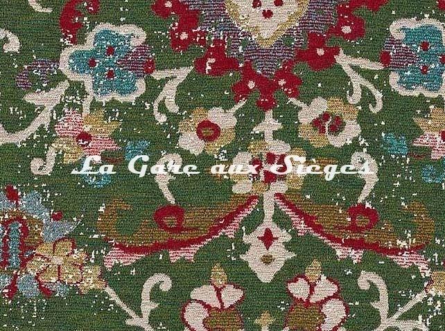 Tissu Pierre Frey - Ankara - réf: F3451.003 Vert ( détail ) - Voir en grand