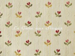 Tissu Chanée Ducrocq - Montmarin - réf: 8532 Crème ( détail )