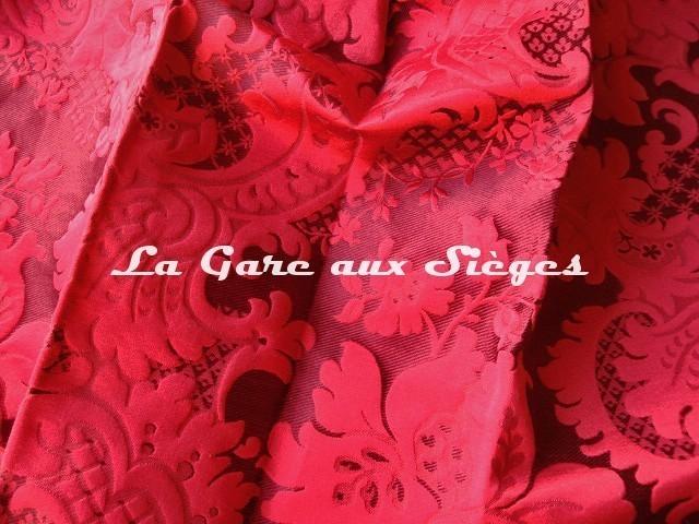 Tissu Tassinari & Châtel - Louis Philippe - réf: 1653.02 Rubis - Voir en grand