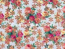 Tissu Casal - Sunshine - réf: 12701 - Coloris: 45 Mandarine - Voir en grand