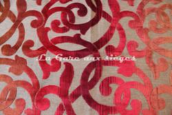 Tissu Deschemaker - Mambo - réf: 103534 Rouge - Voir en grand