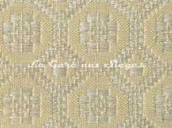 Tissu Le Crin - Christiane 230 - réf: C0230 - Coloris: 098 - Crème - Voir en grand