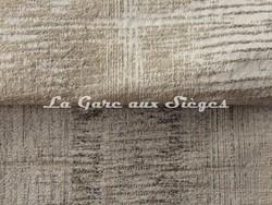 Tissu Casamance - Adage - réf: 3787.0119 Nacre & 3787.0269 Acier - Voir en grand