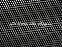 Tissu Boussac - Echo - réf: O7902-003 Noir/Argent - Voir en grand