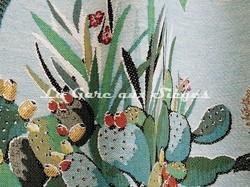 Tissu Lelièvre - Maquis - Coloris: 01 Agave - Voir en grand