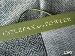 Tissu Colefax and Fowler - La Gare aux Sièges - Voir en grand